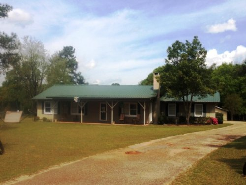 3 Br/2ba Home With 23 +/- Ac : Troy : Pike County : Alabama