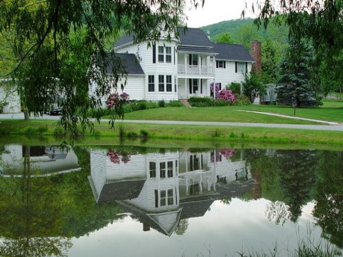Country Home W/acreage And Offices : Troutdale : Grayson County : Virginia