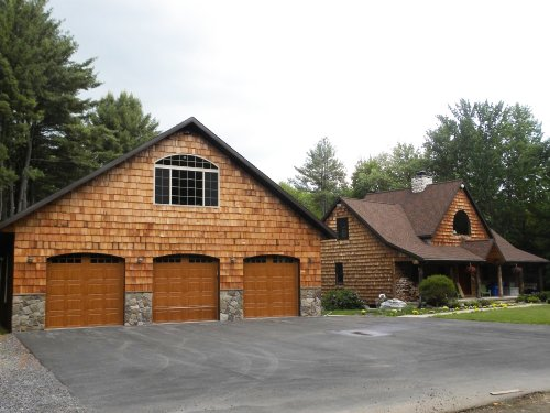 Waterfront Home On Private Lake : Bernhards Bay : Oswego County : New York