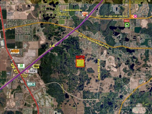 Pine Tree Trail Residential Dev : Davenport : Polk County : Florida