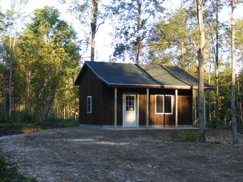 Camp Whiskey Flats : Potsdam : St. Lawrence County : New York