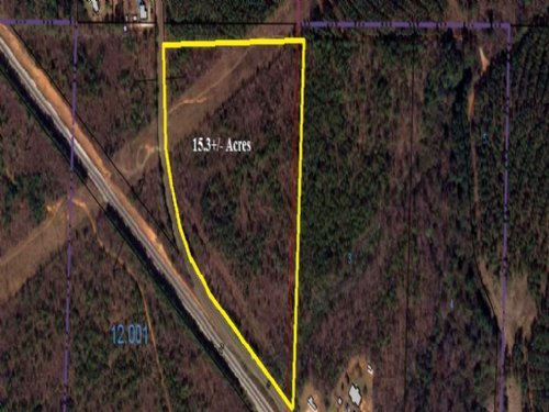 15.3+/- Acres For Sale : Lineville : Clay County : Alabama