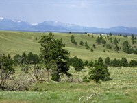 20 Acres With Great Mountain Views : Shawmut : Wheatland County : Montana