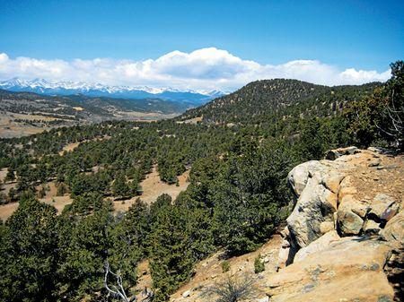 Wet Canyon Ranch : Weston : Las Animas County : Colorado
