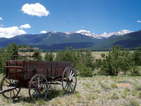 Collegiate Peaks Ranch : Buena Vista : Chaffee County : Colorado