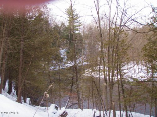 19 Acres With White River Frontage : Hesperia : Oceana County : Michigan