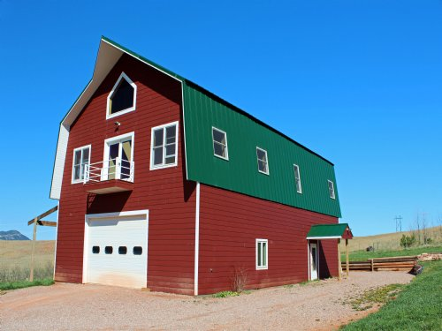 Barn House On 50 Acres : Sundance : Crook County : Wyoming
