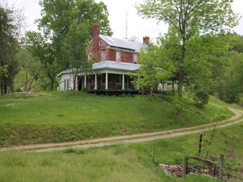 Historic Home & Acreage : Independence : Grayson County : Virginia