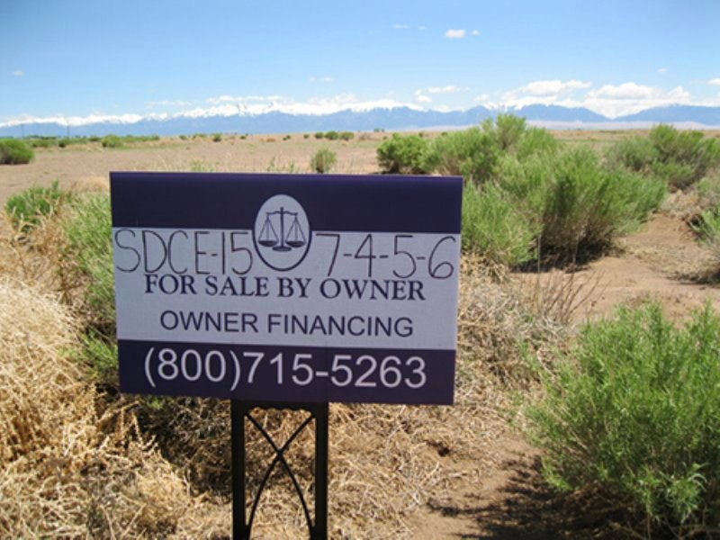 15 Acres, Beautiful Mountain Views : Alamosa : Alamosa County : Colorado
