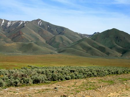 480 Acres Of Ranch Land County Rd : Battle Mountain : Lander County : Nevada