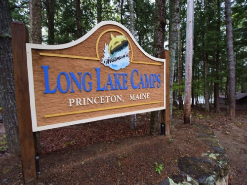 Long Lake Camps : Princeton : Washington County : Maine