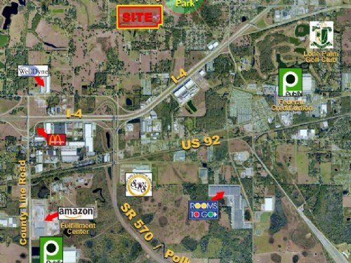 Walker Road Residential Land : Lakeland : Polk County : Florida