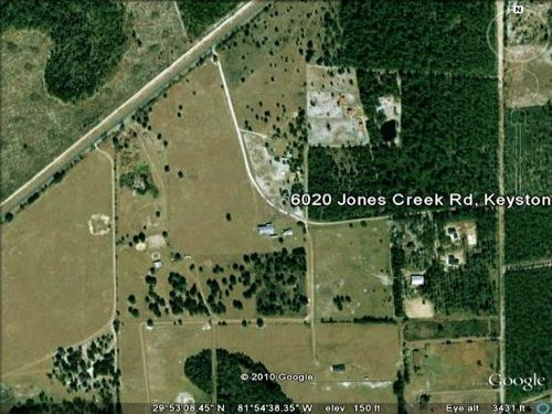 (a-137) 37.6 Acres On Jones Creek R : Keystone Heights : Clay County : Florida