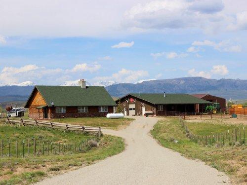 Boulder Horse Ranch : Boulder : Sublette County : Wyoming