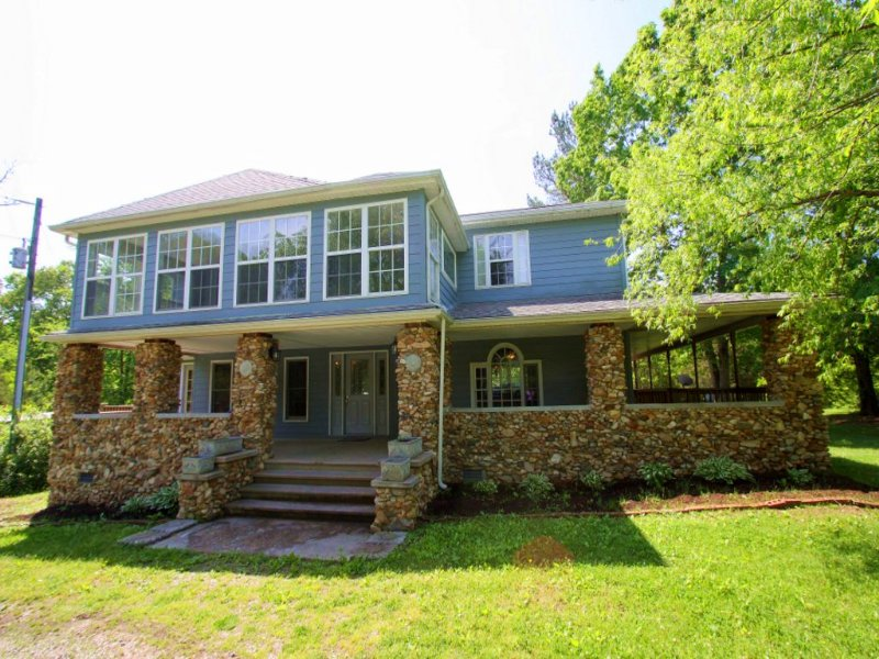 20.9 Acres W/ Lovely Home : Cumberland : Cumberland County : Virginia