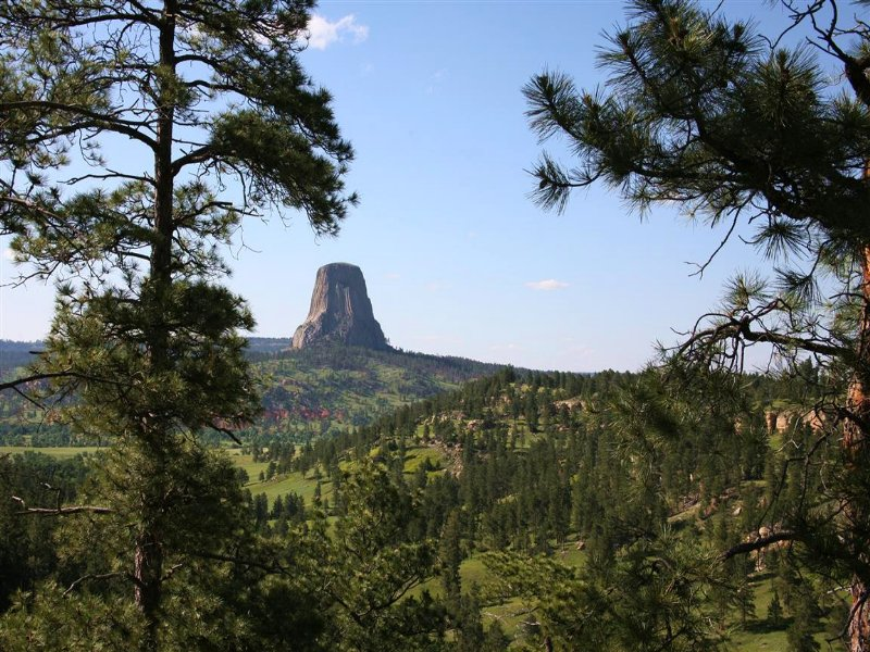 Tower View Ranch West Parcel : Devils Tower : Crook County : Wyoming