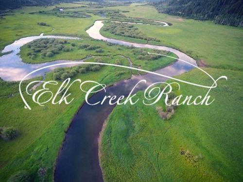 Mountain Vista At Elk Creek Ranch : Meeker : Rio Blanco County : Colorado