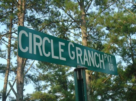 Circle G Ranch : Somerville : Morgan County : Alabama
