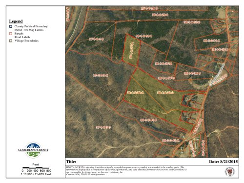 63.14 Acres In Multiple Parcels : Goochland : Virginia