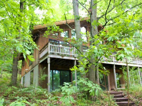 Hunting Lodge Or Secluded Home : Hart : Oceana County : Michigan