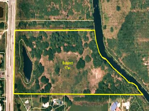 17Ac Picturesque Riverfront Parcel : Fort Pierce : Saint Lucie County : Florida