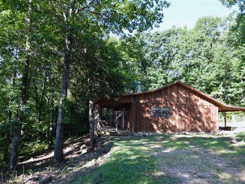 Cabin On 14.6 Acres : Mountain View : Stone County : Arkansas